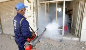 خدمات المكافحة ورش المبيدات